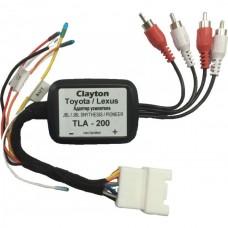 Clayton TLA-200 Toyota/ Lexus адаптер активации штатного усилителя