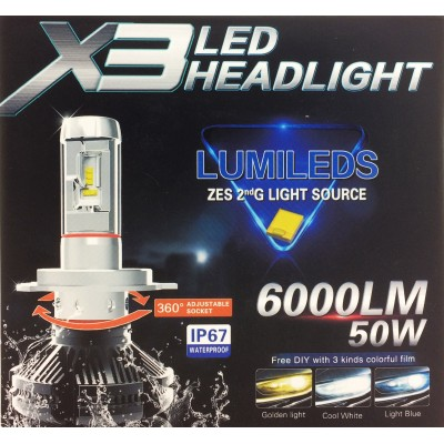 Купить Led лампы головного света Philips Lumileds LED Headlight