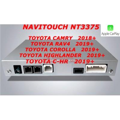 Купить мультимедийный навигационный блок NAVITOUCH NT3375 TOYOTA CAMRY, RAV4, COROLLA, HIGHLANDER 2019+