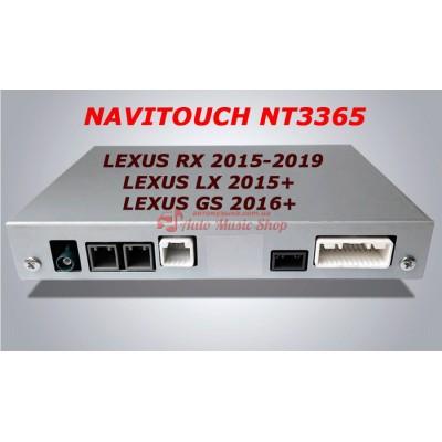 Купить мультимедийный навигационный блок NAVITOUCH NT3365 LEXUS RX 2015-2019, LX 2015+, GS 2016+