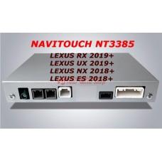 NAVITOUCH NT3385 LEXUS RX 2019+, UX 2019+, NX 2018+, ES 2018+