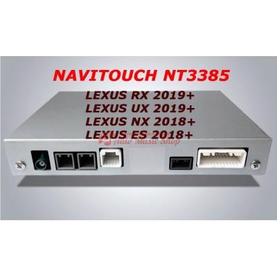 Купить мультимедийный навигационный блок NAVITOUCH NT3385 LEXUS RX 2019+, UX 2019+, NX 2018+, ES 2018+