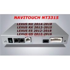 NAVITOUCH NT3315 LEXUS NX 2014-2018, RX 2012-2015, ES 2012-2018, GS 2012-2016