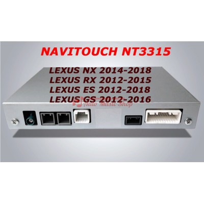 Купить мультимедийный навигационный блок NAVITOUCH NT3315 LEXUS NX 2014-2018, RX 2012-2015, ES 2012-2018, GS 2012-2016
