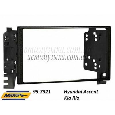 Купить переходную рамку METRA 95-7321 Hyundai Accent