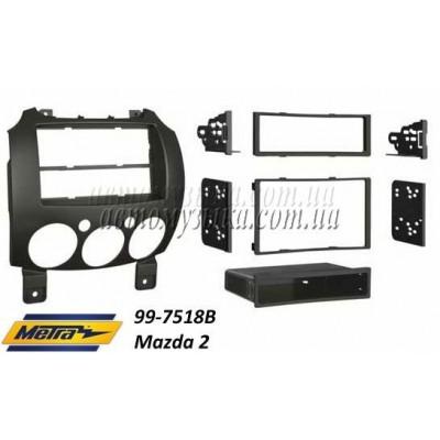 Купить переходную рамку METRA 99-7518B Mazda 2