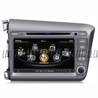 Купить штатную магнитолу EasyGo S108 HONDA Civic 2012 (S100)