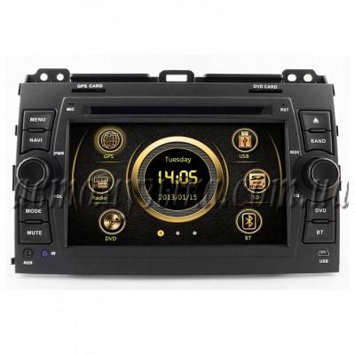 Купить штатную магнитолу EasyGo S306 Toyota Land Cruiser Prado 120