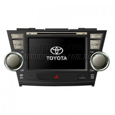 Купить штатную магнитолу FlyAudio E75048 Toyota Highlander