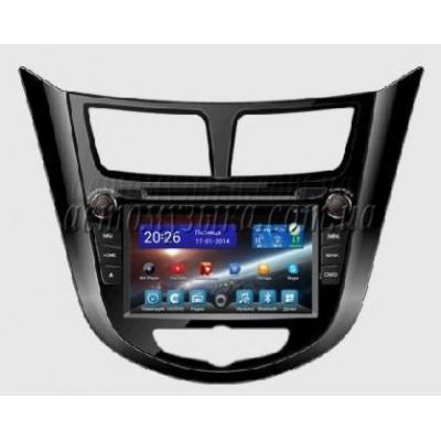 Купить штатную магнитолу FlyAudio G7103F01 Hyundai Accent