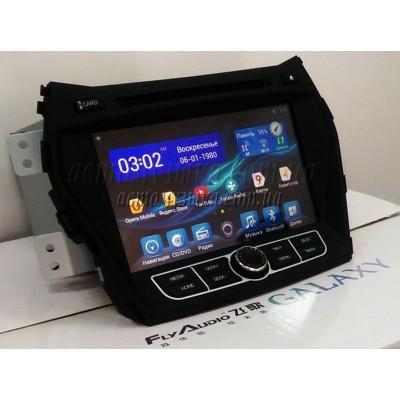 Купить штатную магнитолу FlyAudio G7127F01 Hyundai Santa Fe 2012