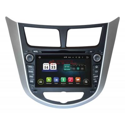 Купить штатную магнитолу INCAR TSA-2487 Hyundai Accent 2011+