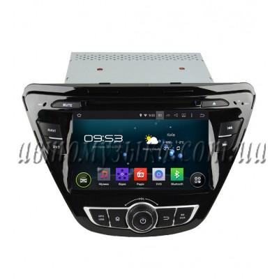 Купить штатную магнитолу Incar Hyundai Elantra 2014
