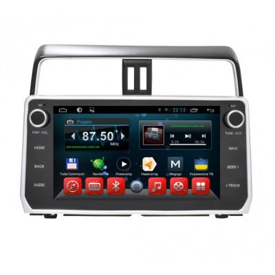 Купить штатную магнитолу Kaier KR-1104 Toyota Land Cruiser Prado 150 2018+