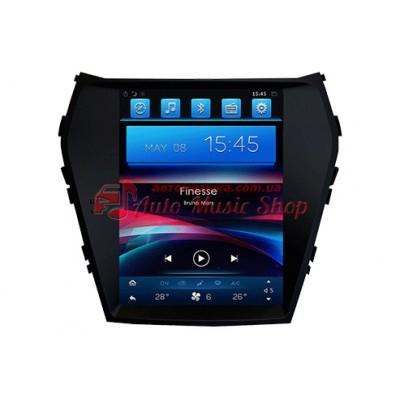 Купить штатную магнитолу Kaier KR-97018 Hyundai Santa Fe / IX45 Tesla Style