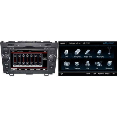 Купить штатную магнитолу MyDean 7103 Honda CR-V