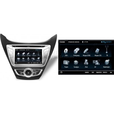 Купить штатную магнитолу MyDean 7122 Hyundai Elantra