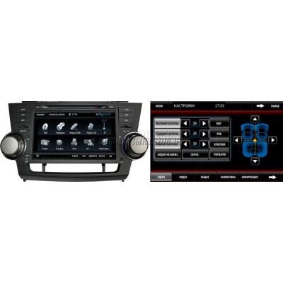 Купить штатную магнитолу MyDean 7144 Toyota Highlander