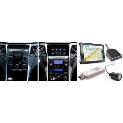 Купить штатную магнитолу MyDean Hyundai Sonata YF (6CD)