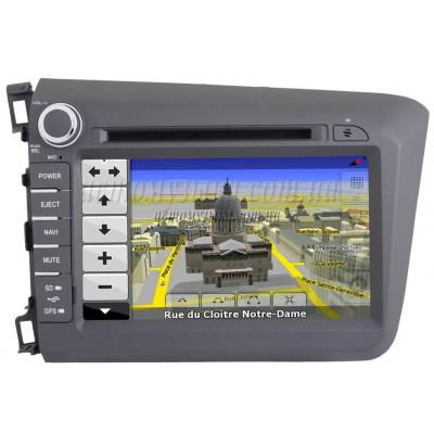 Купить штатную магнитолу nTray 8766 Honda Civic 2012