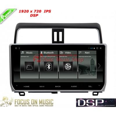 Купить штатную магнитолу Penhui DAFT-2718 IPS DSP Toyota Land Cruiser Prado 150 2018+
