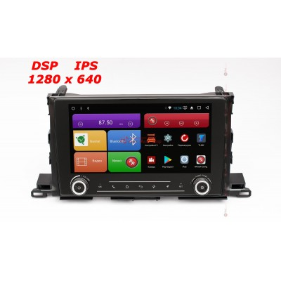 Купить штатную магнитолу RedPower 31184 RK IPS DSP Toyota Highlander III U50 2014+