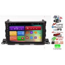RedPower 51184 R IPS DSP Toyota Highlander III U50 2014+