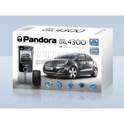 Купить автосигнализацию Pandora DXL 4300 GSM