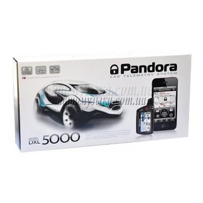 Купить автосигнализацию Pandora DXL 5000 GSM GPRS CAN USB