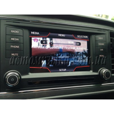 Купить видеоинтерфейс GAZER VI700A-MIB/VAG Seat Ibiza, Leon, Toledo 2013-2015