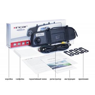 Купить видеорегистратор INCAR VDR зеркало с регистратором VDR-U05