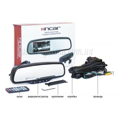 Купить видеорегистратор INCAR VDR зеркало с регистратором